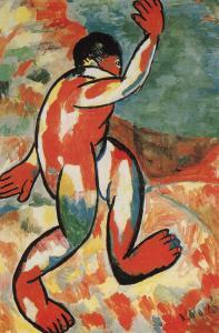 Kάζιμιρ Μάλεβιτς, «Λουόμενος», 1911