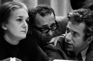 Η Ροσάνα Ροσάντα με τον Λουίτζι Πίντορ και τον Λούτσιο Μάγκρι